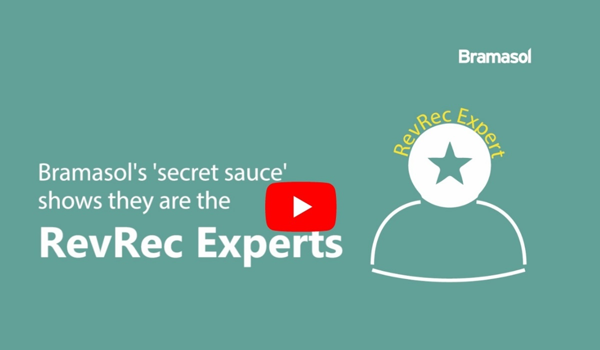 Bramasol's secret sauce shows they are the RevRec Experts says our value Client-1