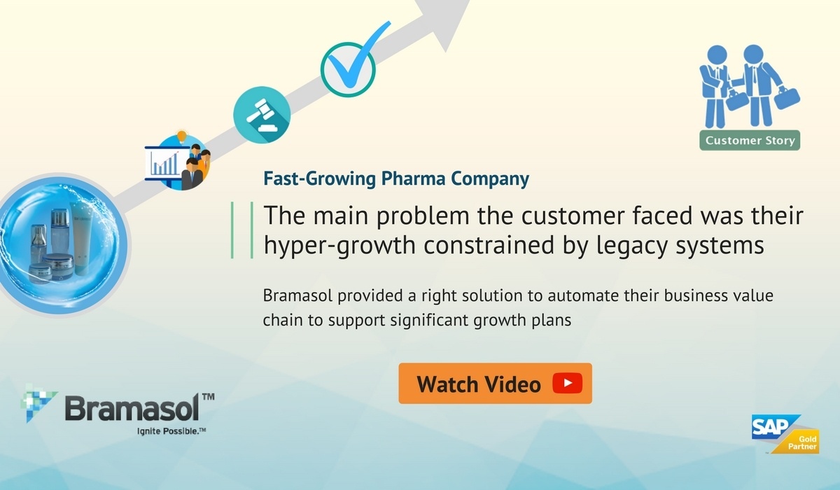 Fast Growing Pharma Company customer story